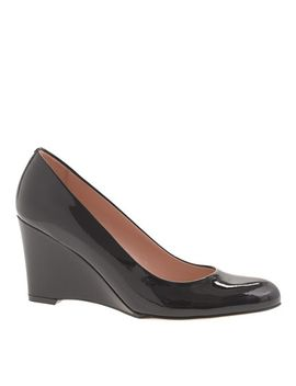 martina-patent-wedges by jcrew