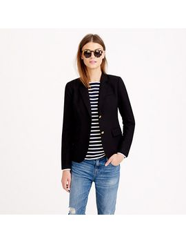 tall-schoolboy-blazer-in-black by jcrew