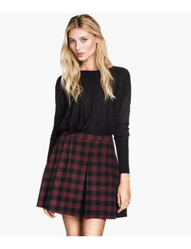 felted-skirt by h&m