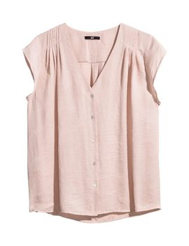 cap-sleeve-blouse by h&m
