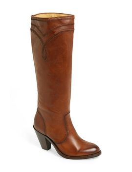 mustang-stitch-tall-boot by frye