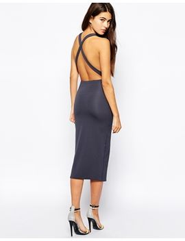 oh-my-love-cross-back-midi-dress by oh-my-love