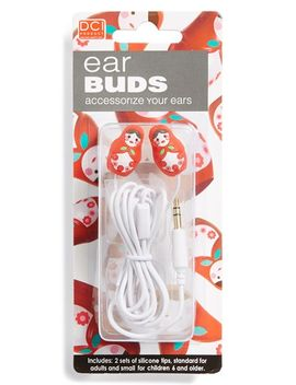 babushka-doll-in-ear-headphones by dci