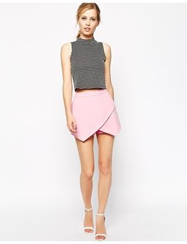 asos-skort-with-fold-front by asos-collection