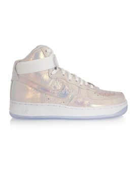 air-force-1-leather-high-top-sneakers by nike