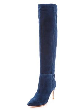 olivia-suede-boots by joie