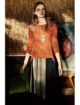 tweeded-chiffon-skirt by eva-franco