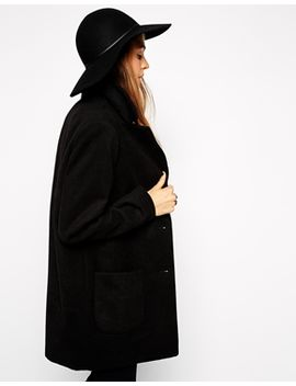asos-skinny-band-felt-floppy-hat by asos-collection