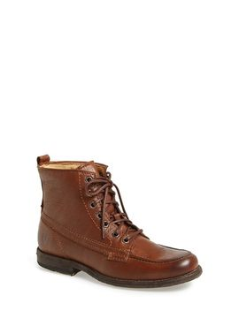 philip-leather-moc-toe-work-boot by frye