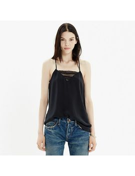 silk-lace-inset-cami by madewell