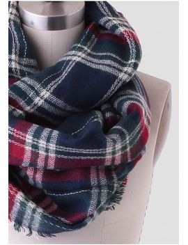 wellesley-plaid-infinity-scarf by ruche