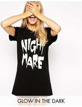 asos-nightmare-osized-tee by asos-collection