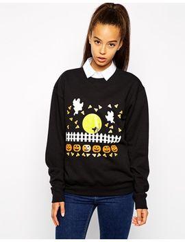 pop-boutique-halloween-scene-sweatshirt by pop-boutique