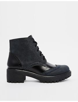 asos-ready-to-go-brogue-ankle-boots by asos-collection