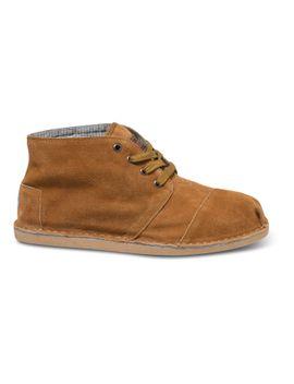 chestnut-suede-mens-desert-botas-$6900 by toms