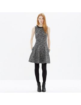the-anywhere-dress-in-tweed by madewell