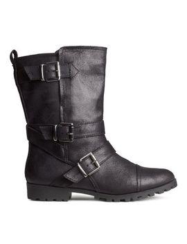 biker-boots by h&m