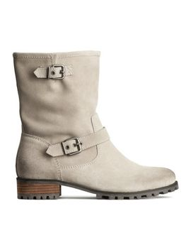suede-boots by h&m