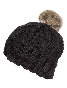 cable-knit-hat by h&m
