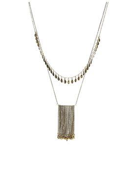 asos-multirow-island-necklace by asos-collection