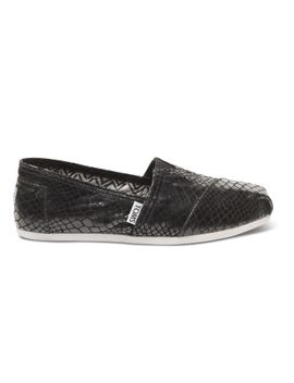toms+-black-serpentine-womens-classics by toms