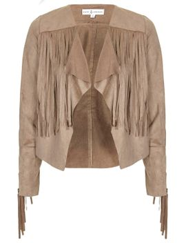 **suede-feel-fringe-jacket-by-rare by topshop