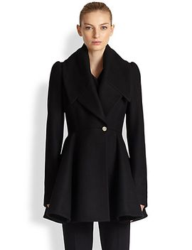 wool-felt-flare-coat by alexander-mcqueen