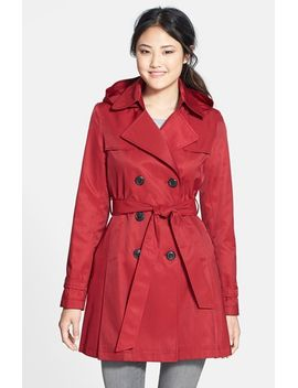skirted-trench by dkny