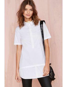 nasty-gal-white-lies-shirtdress by nasty-gal