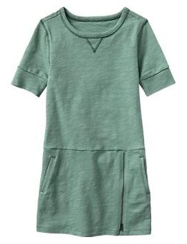 drop-waist-zip-dress by gap