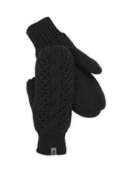 women's-cable-knit-mitt by the-north-face