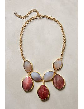 gilded-agate-necklace by anthropologie