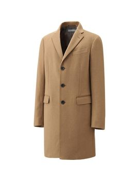 men-wool-cashmere-chesterfield-coat by uniqlo