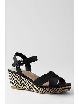 womens-sydney-flatform-sandals by lands-end