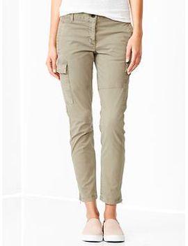 skinny-mini-cargo-khakis by gap