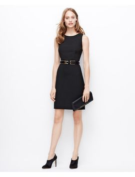 all-season-stretch-back-zip-sheath-dress by ann-taylor