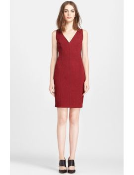 cloqué-knit-sheath-dress by tracy-reese
