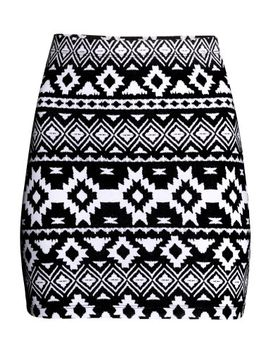 patterned-jersey-skirt by h&m