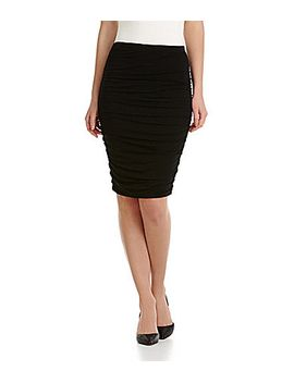 vince-camuto-ruched-tube-skirt by generic