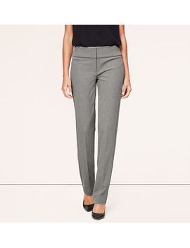 birdseye-bi-stretch-fitted-straight-leg-pants-in-julie-fit by loft