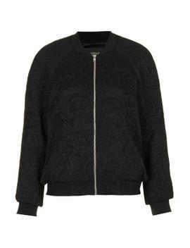 floral-jacquard-bomber-jacket by topshop