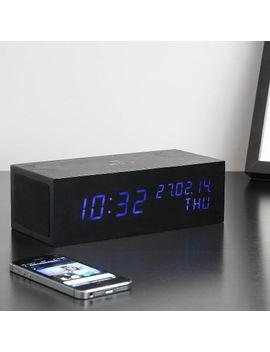 black-music-click-clock by gingko-electronics