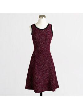 factory-knit-tweed-sleeveless-dress by jcrew