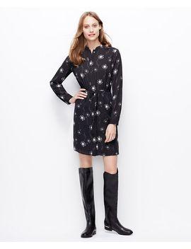 dandelion-print-shirtdress by ann-taylor