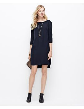 high-low-hem-shift-dress by ann-taylor