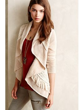 fringed-circle-cardigan by knitted-&-knotted