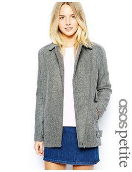 asos-petite-exclusive-textured-coat by asos-petite