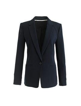 petite-japanese-crepe-blazer by jcrew