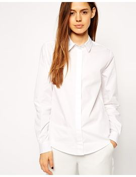 asos-slim-line-boyfriend-shirt by asos-collection