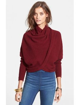 sugar-faux-wrap-sweater by free-people